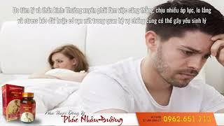 Thức Khuya gây yếu sinh lý ở nam giới -Chữa Yếu Sinh Lý-Minh Mạng Đan