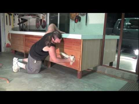 Prepare Wood For Paint / Stain / Varnish (TIME-LAPSE) Part 6 In Real Time HD diy fill nail holes