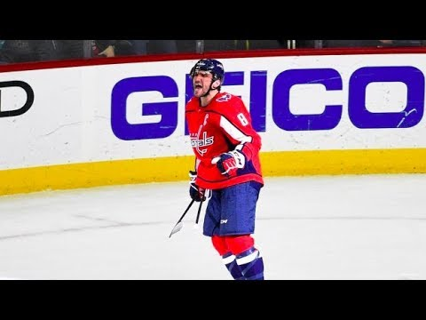 Alex Ovechkin 2017-18 Season Highlights | Rocket Richard Trophy Winner