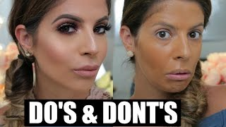 makeup do s and donts   foundation primer   laura lee