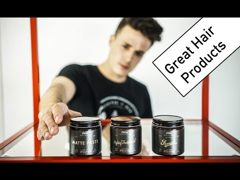 GREAT Hair Products   3 Mens Hairstyles with 3 Hair Products   O'douds Review