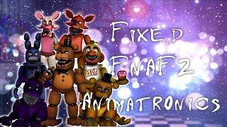 [FNAF | Speed Edit] Making Fixed FNAF2 Animatronics Part3