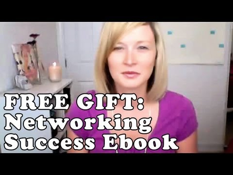 Free Gift: Networking Success Ebook