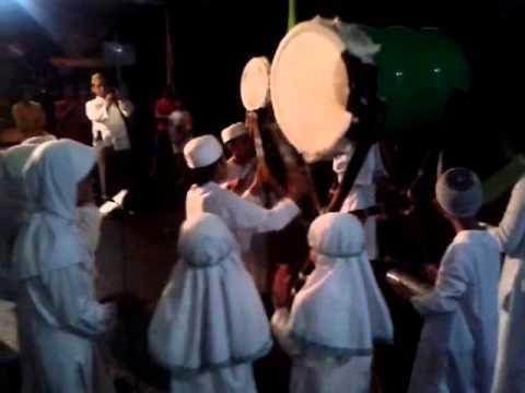 Juara 1 Festival Pukul Bedug MBR, malam takbiran 1434H