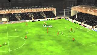 Luxembourg vs Spain - F�bregas Goal 9 minutes