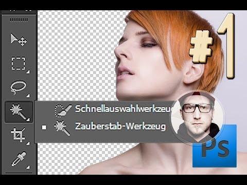 Freistellen In Photoshop Zauberstab Werkzeug #1