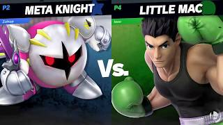 META KNIGHT VS LITTLE MAC - Super Smash Bros. Ultimate Gameplay Nintendo Switch スマブラSP HD