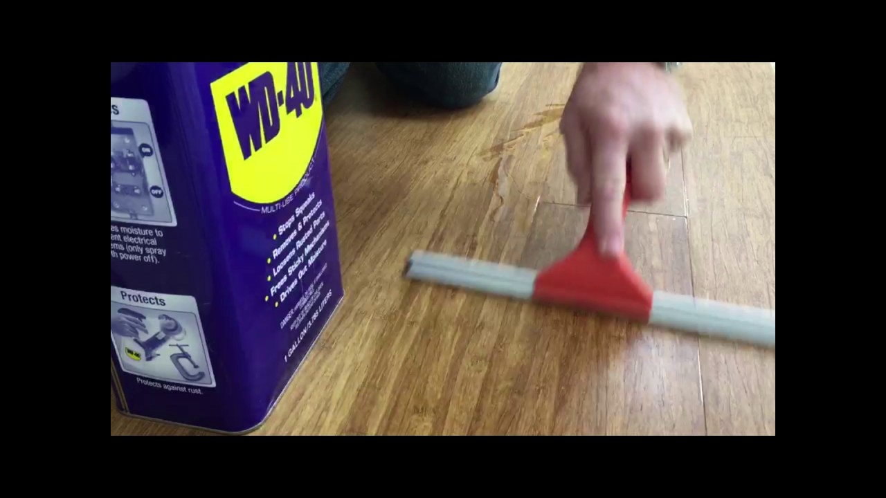 How to fix hardwood floors that squeak - Fix Your Squeaky Floors With Wd 40