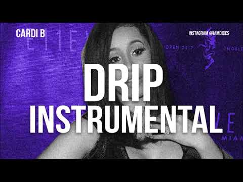 Cardi B - Drip ft. Migos (Instrumental)