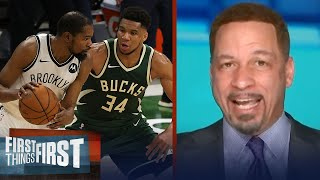 With all respect to the Bucks, the Nets don't fear them - Chris Broussard | NBA | FIRST THINGS FIRST