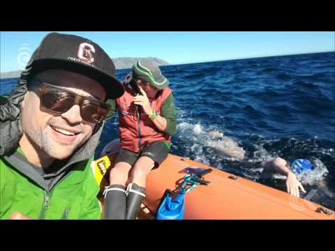 12 year old becomes youngest to swim Cook Strait: RNZ Checkpoint