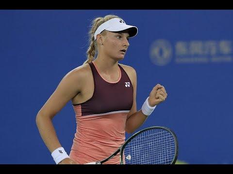 Dayana Yastremska vs. Karolína Pliskova | 2019 Wuhan Open Third Round | WTA Highlights