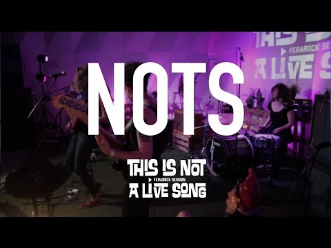 This Is Not A Live Song Ferarock Sessions - NOTS