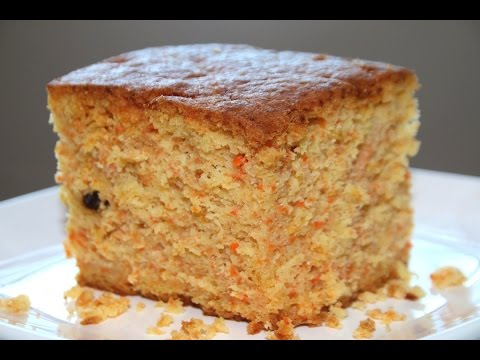 carrot cake recipe/soft & moist - Food At Home