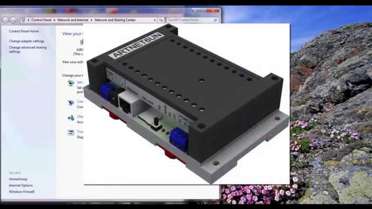 FreeStyler to ArtNet, Art-Net DMX controller