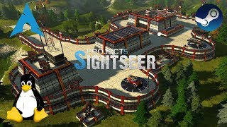 Project 5: Sightseer - Early Access - Linux  | Gameplay
