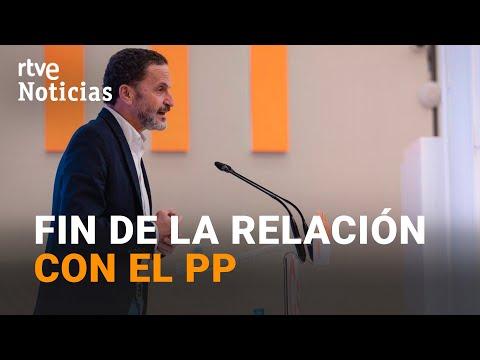 """CIUDADANOS da por """"TOTALMENTE ROTA"""" la relación con GÉNOVA tras las crisis en Murcia y Madrid I RTVE"""