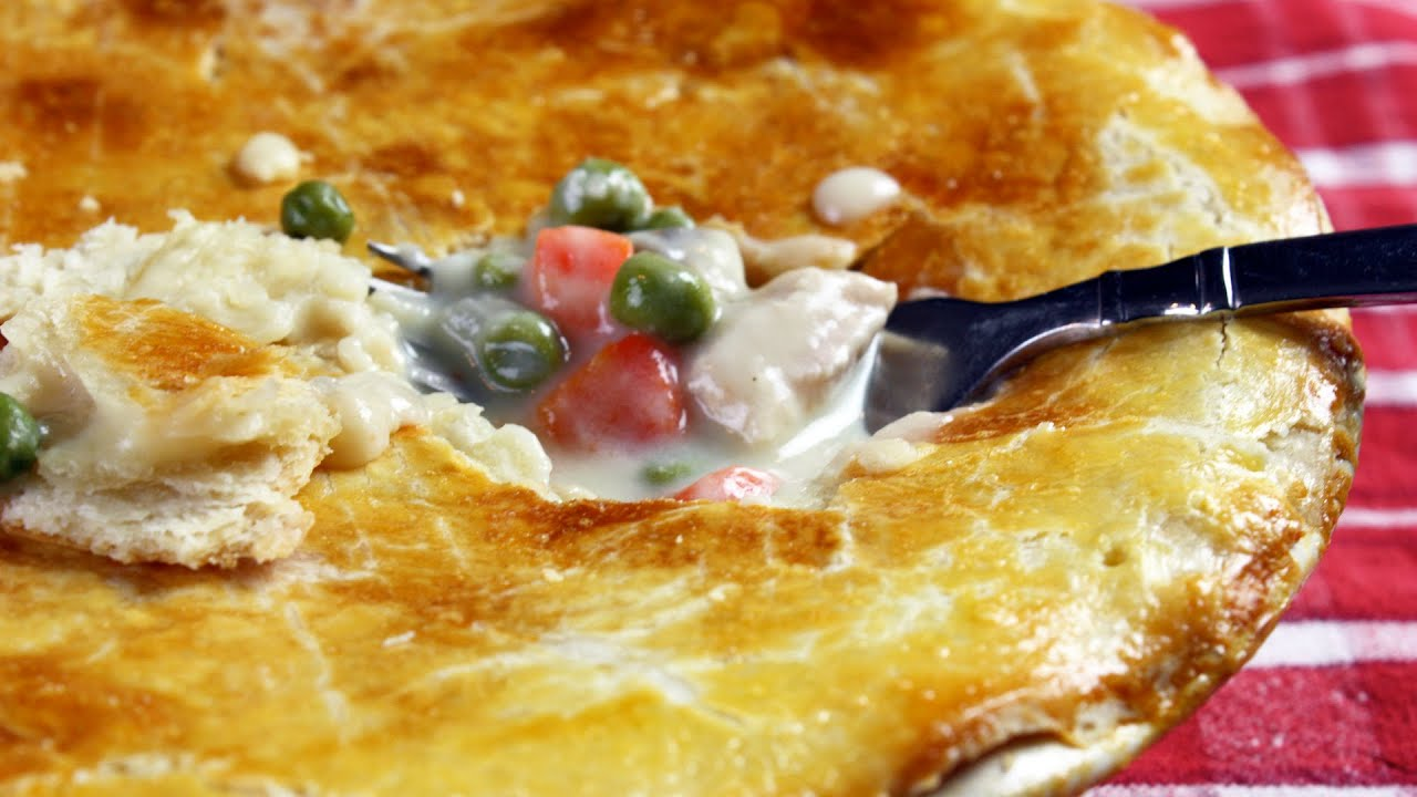 Chicken Pot Pie - Healthy, Easy to Make from Scratch - YouTube