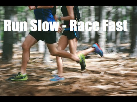 Run Slow - Race Fast: 50k Training Plan