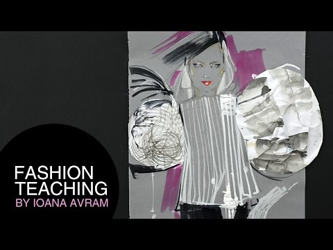 How To Use Patterns To Create Fashion Sketch