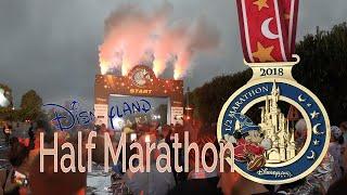 Disneyland Paris half marathon Magic Run