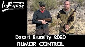 Desert Brutality 2020 - Rumor Control