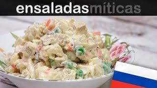LA ENSALADA RUSA QUE COMEN EN RUSIA | Las ensaladas más famosas del mundo