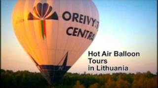 Hot Air Balloon Tours in Lithuania - Ballooning LT