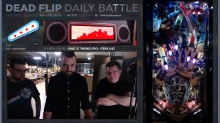 Game Of Thrones (Pro) - Stern 2015 PT2 #Pinball #Streaming 09/28/15