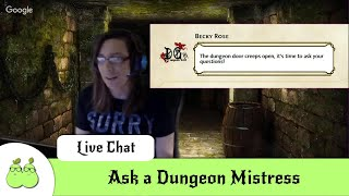 Ask a Dungeon Mistress #2