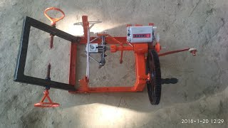 how to make a home made ceiling fan rewinding machine very cheap and working awesome