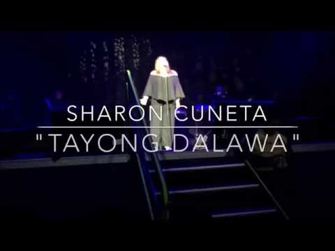 "Sharon Cuneta Cries As She Sings ""Tayong Dalawa"" Anaheim CA USA Concert Tour 2015"