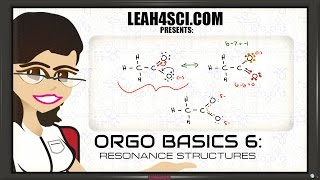 Resonance Hybrids and Drawing Resonance Structures - Orgo Basics 6