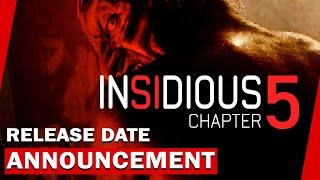 Insidious 5 Release Date Announcement Patrick Wilson Return Youtube
