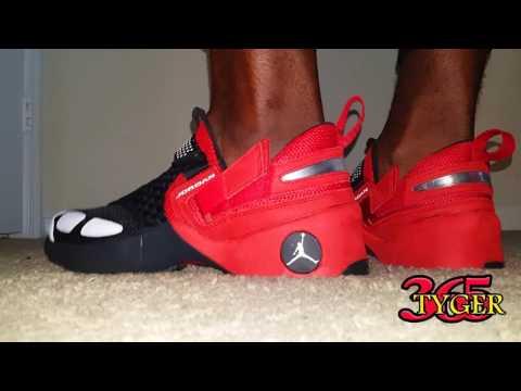 26f9836eb58f9 Air Jordan Trunner LX OG review on foot - YouTube