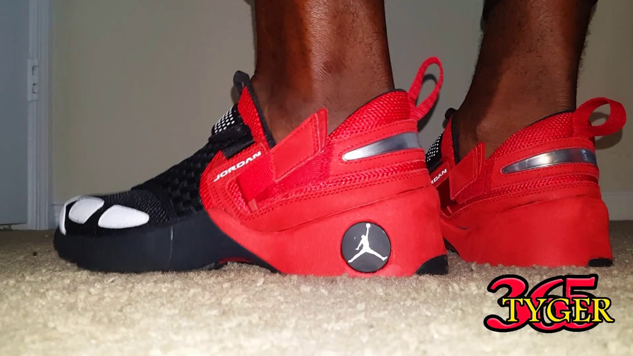ee541b8f7807 Air Jordan Trunner LX OG review on foot - YouTube