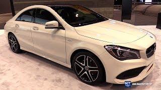 2018 Mercedes Benz CLA Class CLA 250 Coupe - Exterior Interior Walkaround - 2018 Chicago Auto Show