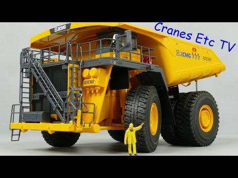 Yagao XCMG XDE360 Mining Truck by Cranes Etc TV
