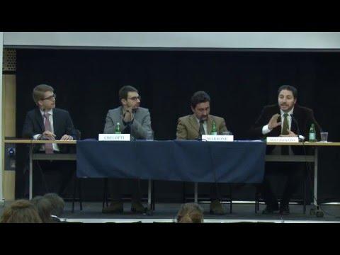 LSE Italian Forum 2015 - Panel III - Italian National Security