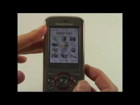 Sony-Ericsson W395 Test Bedienung