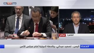 اليمن.. تصعيد ميداني والخطة الدولية أمام مجلس الأمن