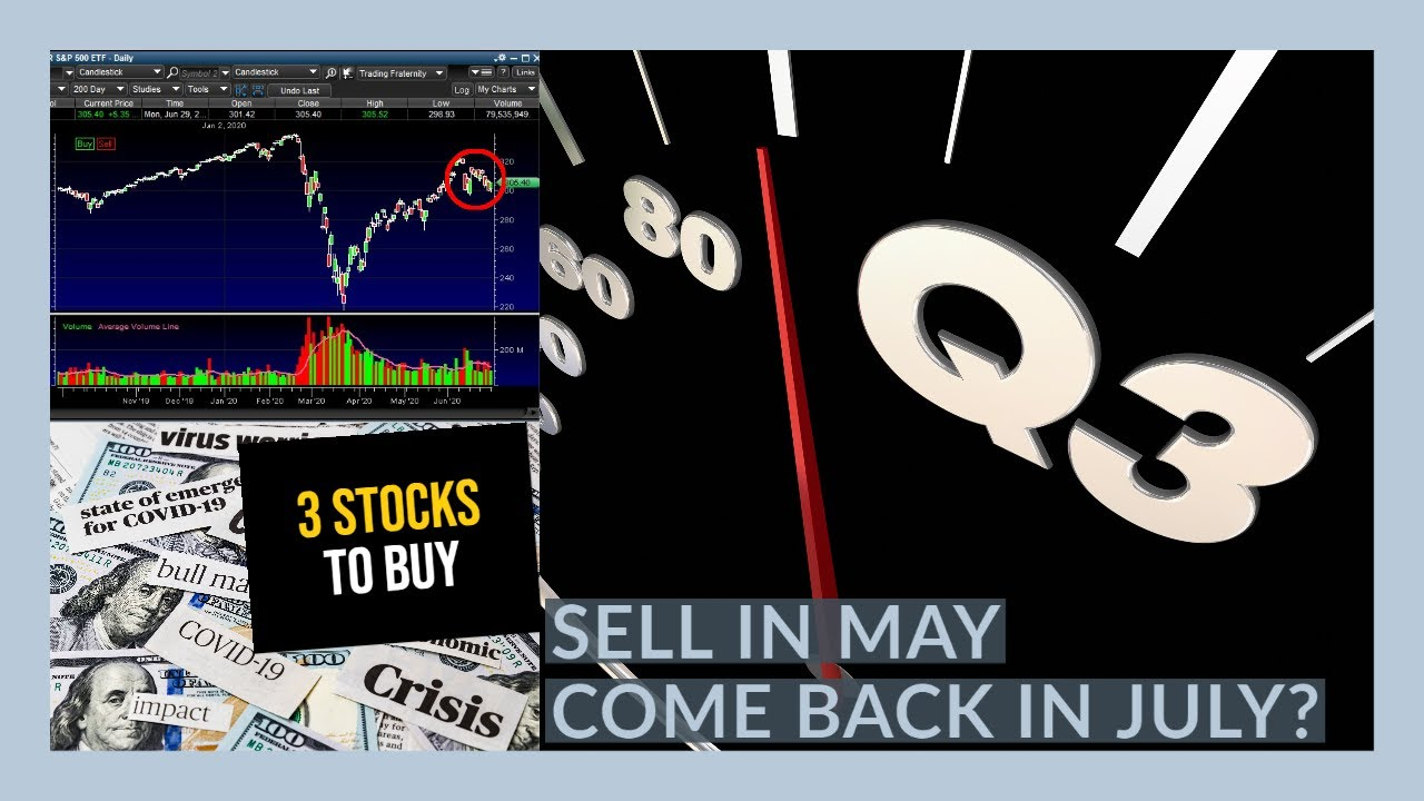 THE STOCK MARKET ENTERS A NEW QUARTER - My Watchlist - 3 STOCKS TO BUY NOW!!