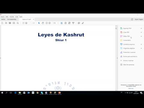 Curso sobre kashrut - clase 1