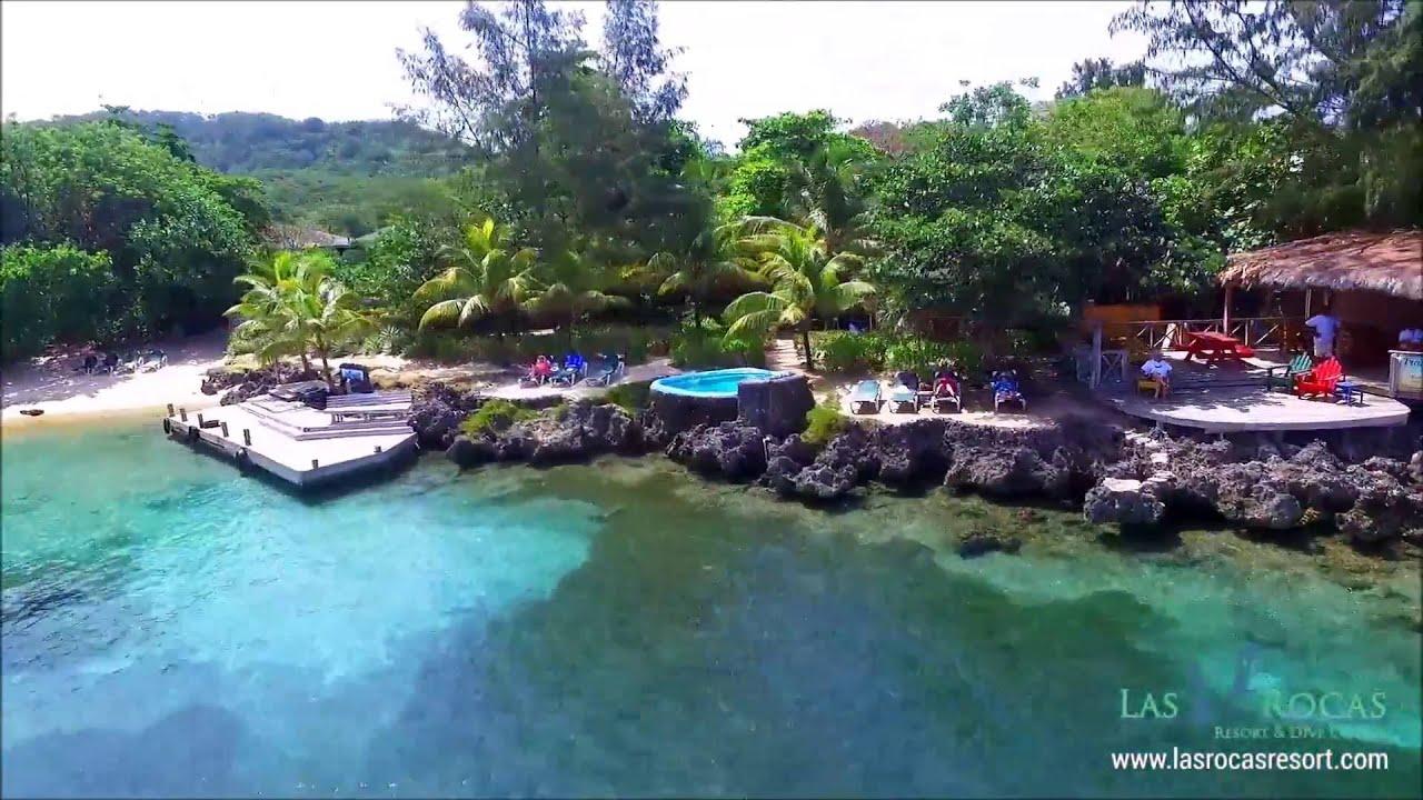 Roatan las rocas resort dive center youtube for Roatan dive resort