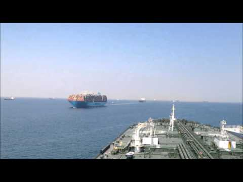 Transiting NEW Suez canal
