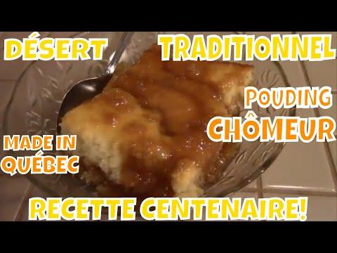 recette-traditionnel-quÉbÉcoise,-*le-meilleur-dÉsert*-le-vrai-pouding-chÔmeur!!!