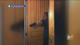 Gun Pointed At Black Lives Matter Protesters Visiting La Da Jackie Lacey's Home