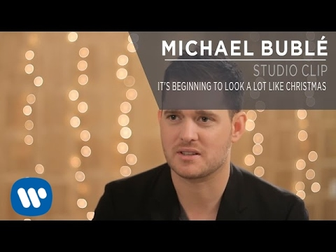 Michael Buble Its Beginning To Look A Lot Like Christmas.Michael Buble It S Beginning To Look A Lot Like Christmas Studio Clip