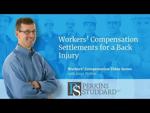 Workers' Compensation Settlements for a Back Injury