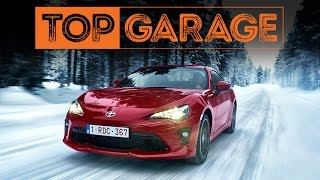 Toyota GT86 | Snow drifting | TEST | Top Garage